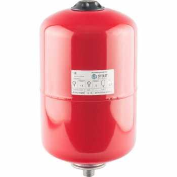 Stout Расширительный бак на отопление 12 л. (цвет красный) STH-0004-000012