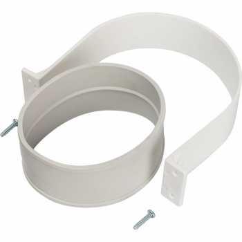 Stout Элемент дымохода  комплект для соединеия труб внешний DN100, уплотнение EPDM  и хомут в комплекте. SCA-6010-000001