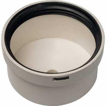 Stout Элемент дымохода конденсац.крышка под сифон DN80 м SCA-8080-010088