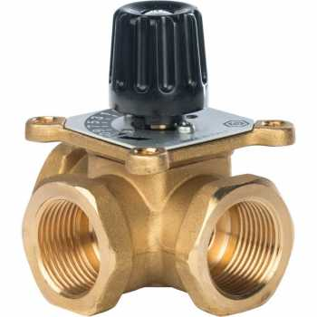 """Stout трехходовой смесительный клапан 1"""" KVs 8 SVM-0003-012501"""