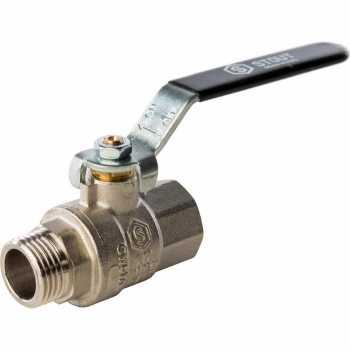 Stout Кран шаровой полнопроходной, ВР/НР, ручка рычаг 1/2 SVB-0003-000015