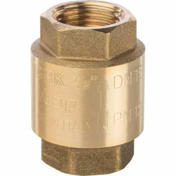 """Stout 1/2"""" Клапан обратный пружинный муфтовый с пластиковым седлом SVC-0002-000015"""