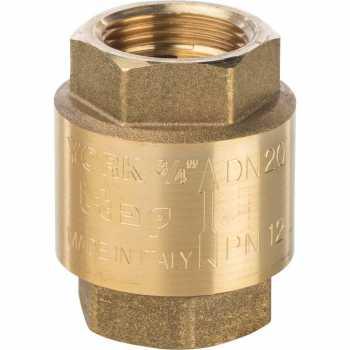 Stout 3/4 Клапан обратный пружинный муфтовый с пластиковым седлом SVC-0002-000020