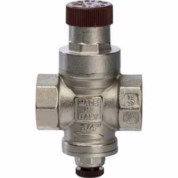 """Stout 3/4"""" Редуктор давления с давлением на выходе 1…4 бар с подсоединением для манометра SVS-0010-000020"""