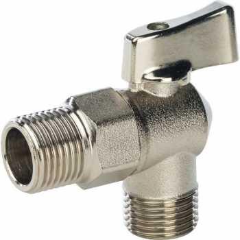 """Stout 1/2"""" Кран шаровой угловой для стиральных машин SVB-0023-001515"""