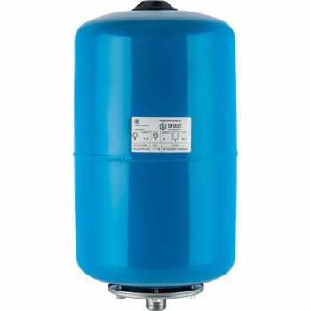 Stout Расширительный бак, гидроаккумулятор 20 л. вертикальный (цвет синий) STW-0001-000020