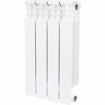 Stout Space 500 4 секции радиатор биметаллический боковое подключение SRB-0310-050004
