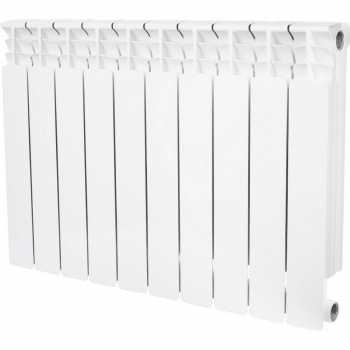 Stout Space 500 10 секций радиатор биметаллический боковое подключение SRB-0310-050010