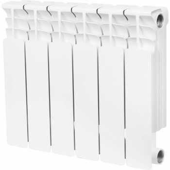 Stout Space 350 6 секций радиатор биметаллический боковое подключение SRB-0310-035006