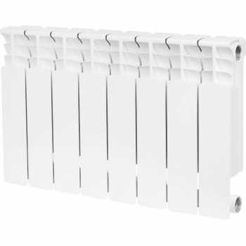 Stout Space 350 8 секций радиатор биметаллический боковое подключение SRB-0310-035008