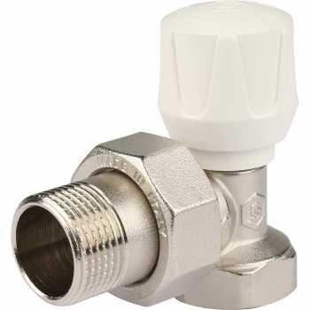 """Stout Клапан ручной терморегулирующий, угловой 3/4"""" SVR 2102 000020"""