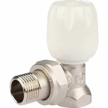 """Stout Клапан ручной терморегулирующий с неподъемным шпинделем, угловой 1/2"""" SVRs 1152 000015"""