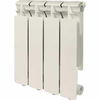 Stout Bravo 350 4 секции радиатор алюминиевый боковое подключение SRA-0110-035004