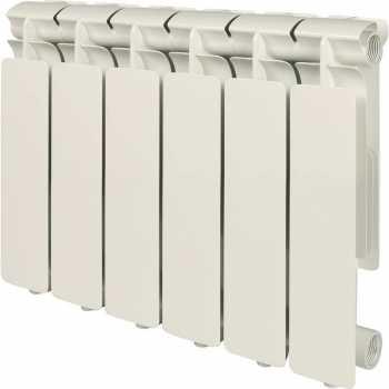 Stout Bravo 350 6 секций радиатор алюминиевый боковое подключение SRA-0110-035006