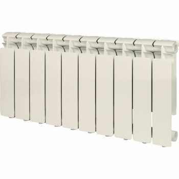 Stout Bravo 350 10 секций радиатор алюминиевый боковое подключение SRA-0110-035010
