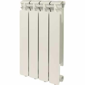 Stout Bravo 500 4 секции радиатор алюминиевый боковое подключение SRA-0110-050004