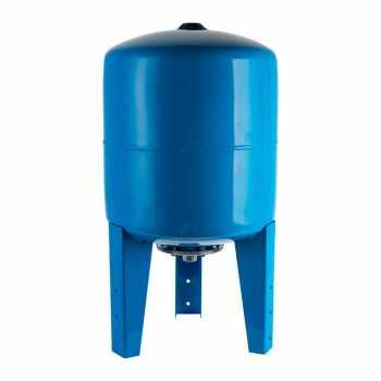 Stout Расширительный бак, гидроаккумулятор 100 л. вертикальный (цвет синий) STW-0002-000100