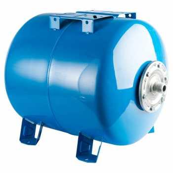 Stout Расширительный бак, гидроаккумулятор 80 л. горизонтальный (цвет синий) STW-0003-000080