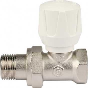 """Stout Клапан ручной терморегулирующий, прямой 1/2"""" SVR 2122 000015"""