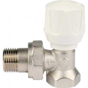 """Stout Клапан ручной терморегулирующий, угловой 1/2"""" SVR 2102 000015"""