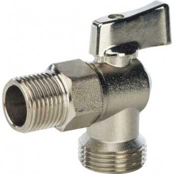 Stout 1/2 на 3/4 Кран шаровой угловой для стиральных машин SVB-0023-001520