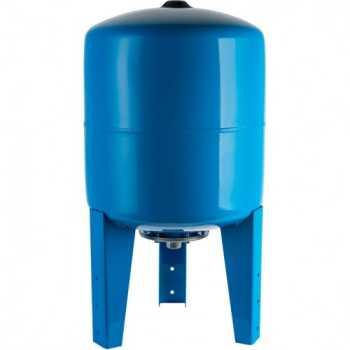 Stout Расширительный бак, гидроаккумулятор 300 л. вертикальный (цвет синий) STW-0002-000300
