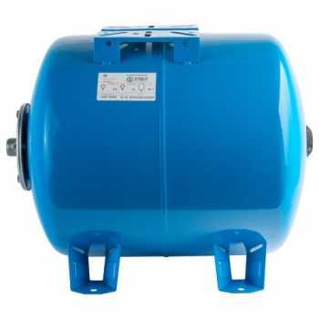 Stout Расширительный бак, гидроаккумулятор 50 л. горизонтальный (цвет синий) STW-0003-000050