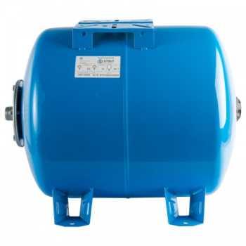 Stout Расширительный бак, гидроаккумулятор 100 л. горизонтальный (цвет синий) STW-0003-000100