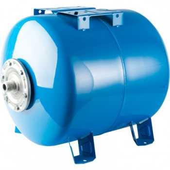 Stout Расширительный бак, гидроаккумулятор 200 л. горизонтальный (цвет синий) STW-0003-000200