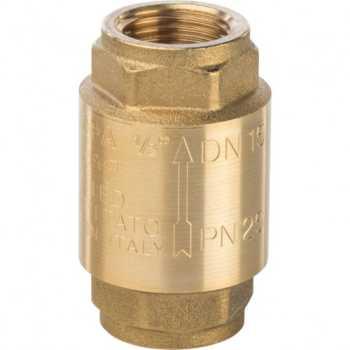 """Stout 1/2"""" Клапан обратный пружинный муфтовый с металлическим седлом SVC-0001-000015"""