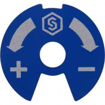 Stout Синий-красный диск для распределительных коллекторов SMB 6801 000610