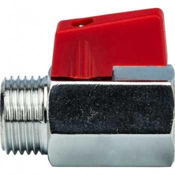 Stout 1/2 Кран шаровой мини, муфта/резьба SVB-0022-000015