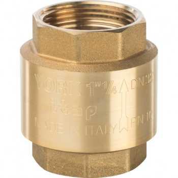 """Stout 1 1/4"""" Клапан обратный пружинный муфтовый с пластиковым седлом SVC-0002-000032"""