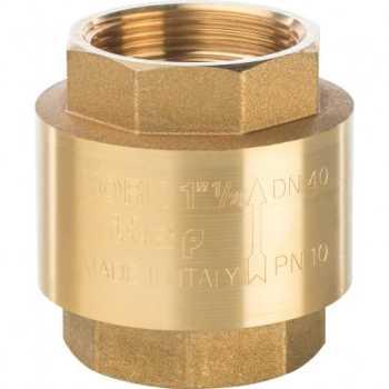 """Stout 1 1/2"""" Клапан обратный пружинный муфтовый с пластиковым седлом SVC-0002-000040"""