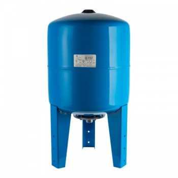 Stout Расширительный бак, гидроаккумулятор 50 л. вертикальный (цвет синий) STW-0002-000050