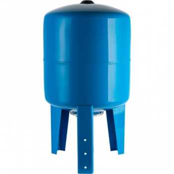 Stout Расширительный бак, гидроаккумулятор 150 л. вертикальный (цвет синий) STW-0002-000150
