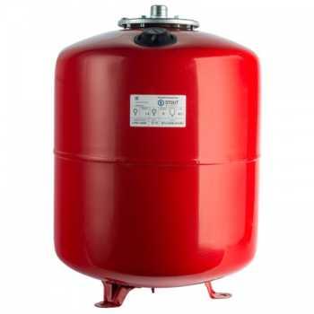 Stout Расширительный бак на отопление 50 л. (цвет красный) вертикальный STH-0006-000050
