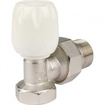 """Stout Клапан ручной терморегулирующий с неподъемным шпинделем, угловой 3/4"""" SVRs 1152 000020"""