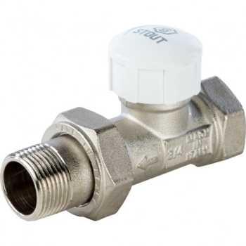 Stout Клапан термостатический, прямой 3/4 SVT 0003 000020