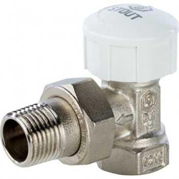Stout Клапан термостатический, угловой 1/2 SVT 0002 000015