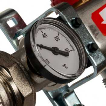 Stout Коллектор из нержавеющей стали в сборе с расходомерами 4 вых. SMS 0907 000004