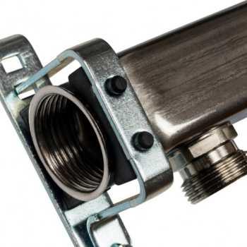 Stout Коллектор из нержавеющей стали для радиаторной разводки 4 вых. SMS 0923 000004