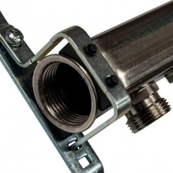 Stout Коллектор из нержавеющей стали для радиаторной разводки 11 вых. SMS 0923 000011