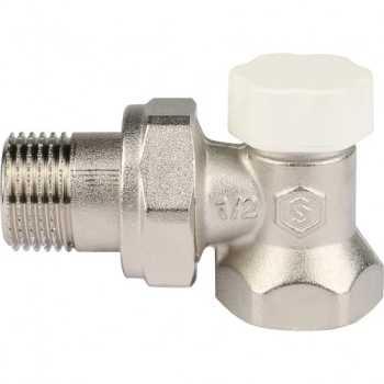 """Stout Клапан запорно-балансировочный, угловой 1/2"""" SVL 1156 000015"""