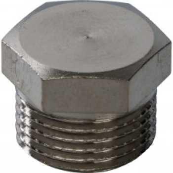 Stout Заглушка НР никелированная 3/8 SFT-0025-000038