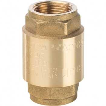 Stout 3/4 Клапан обратный пружинный муфтовый с металлическим седлом SVC-0001-000020