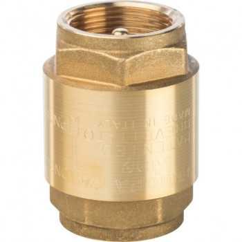 """Stout 1 1/4"""" Клапан обратный пружинный муфтовый с металлическим седлом SVC-0001-000032"""