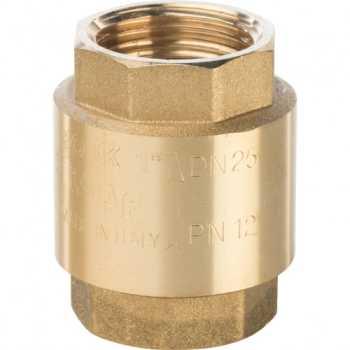 """Stout 1"""" Клапан обратный пружинный муфтовый с пластиковым седлом SVC-0002-000025"""