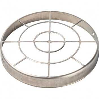 Stout Элемент дымохода решетка из нержавеющей стали DN80 для воздухоподводящей трубы SCA-0080-010003