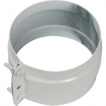 Stout Элемент дымохода соединительный адаптер внешний с рукавом для труб DN80  п/п SCA-0080-020136